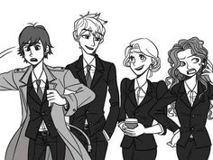 First day of work (Hiccup, Jack, Repunzel,  Meridian)