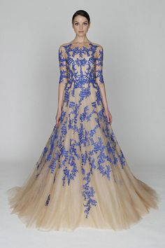 Tulle and lavender.