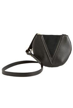 Valkyrie Shoulder Bag in Ink Black