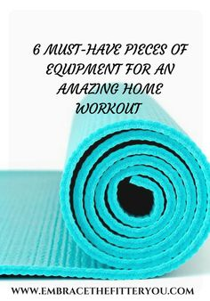 Can't go to the gym? No problem. Working out at home is a great alternative, but you need the right equipment. I outline 6 pieces of equipment for an AMAZING home workout.