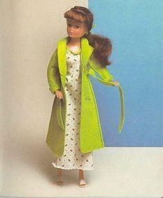 Robe de chambre en feutrine pour Barbie