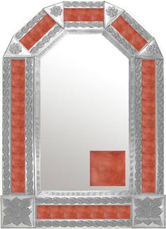 Rustica House modern  tin mirror.  #rusticahouse #myrustica #tinmirrors