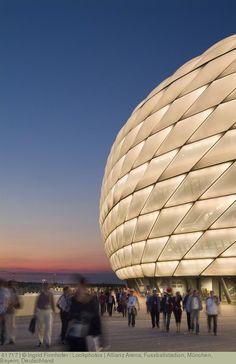 Allianz Arena, Fussballstadion, München, Bayern, Deutschland