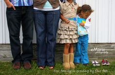 Photo by eMarie Photography: adoption announcement
