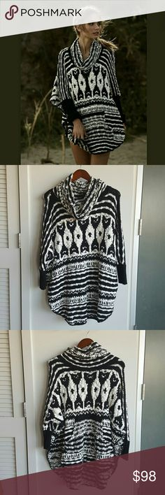 Free People Rosie Lee Poncho (XS) Cozy, comfy and cute! Great for the fall season but again, I don't get much use out of it in sunny CA. Worn once, as new! Free People Jackets & Coats Capes