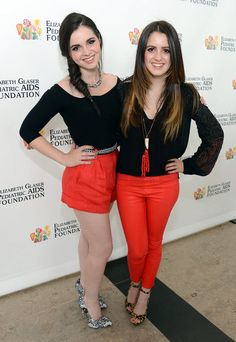 "CoolDis411 Vanessa And Laura Marano At ""A Time For Heroes"" Event June 2, 2013"