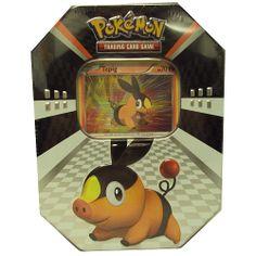 """Pokemon Sneak-Peek Tin - Orange -  Pokemon USA - Toys""""R""""Us"""