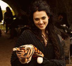 Katie McGrath as Morgana #Merlin  via Tumblr