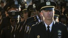 Thousands of police officers are expected to attend Mr Ramos's funeral on Saturday - AP Sports Scores, Police Officer, Funeral, The Outsiders, Captain Hat, Nyc, New York, Statistics, Places