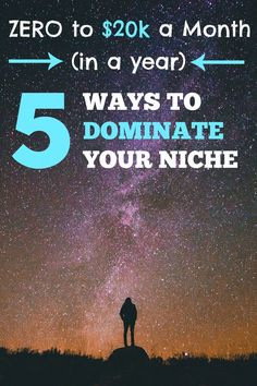 Jon shares the 5 channels he's used to serve (and monetize) his audience. $0 to $20k a month, in 1 year: 5 ways to dominate your niche, via @sidehustlenation