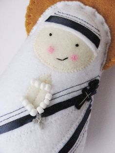 its a mother teresa softie...i need this too
