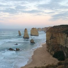 Sunrise at the 12 Apostles #sunrise #12apostles #victoria #coastal #thegreatoceanroad #nofilter #coswhy #beautifuldestinations by woody_rose http://ift.tt/1ijk11S