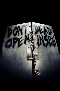 FREEIOS7 | walking-dead-inside - parallax HD iPhone iPad wallpaper