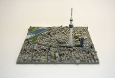 This Kickstarter Campaign is 3D Printing Tokyo in 100 Pieces,Courtesy of iJet Inc.
