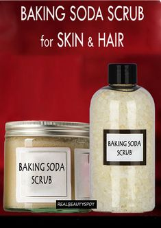 Best Baking soda scrubs for skin care and hair care... include using it as an exfoliator. on its own is grainy enough to be a gentle scrub. You can also add a teaspoon to your cleanser or to your shampoo... Read on for all of the ways this practical powder can help you look your best from head to toe.