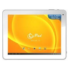 """Leotec LVDS L-Pad Polar X - Tablet de 9.7"""" (WiFi + Bluetooth, 8 GB de capacidad, 1 GB de RAM, Android 4.1), Negro B00E863GIA - http://www.comprartabletas.es/leotec-lvds-l-pad-polar-x-tablet-de-9-7-wifi-bluetooth-8-gb-de-capacidad-1-gb-de-ram-android-4-1-negro-b00e863gia.html"""
