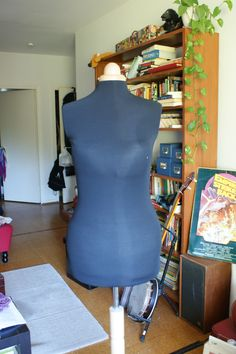 Padding a dress form