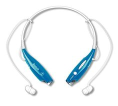 Universal Wireless Bluetooth in Ear Headset for iPhone Samsung Galaxy HTC Sony LG BlackBerry and Motorola Smart Phones  Great for Tablets and Computers Blue -- Learn more by visiting the image link.