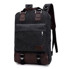 Men s Travel Bags Fashion Men And Women Canvas Shoulder Backpack Girl Large- capacity Multi-purpose Bag 4 Colors Men Backpacks 76151320ae450