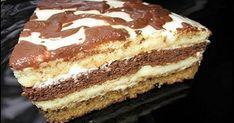 Ukrainian Recipes, Russian Recipes, Peppermint Meringues, Hungarian Cake, Russian Desserts, Bolet, Kolaci I Torte, Sour Cream Cake, Sweet Cakes