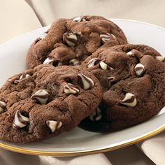 Chocolate-Studded Dream Cookies