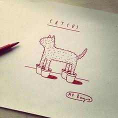 Catcus - Mr Bingo Lustik: twitter | pinterest | etsy