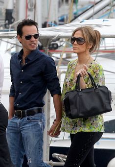 Jennifer Lopez and Mark Anthony father of her twins (boy & girl)