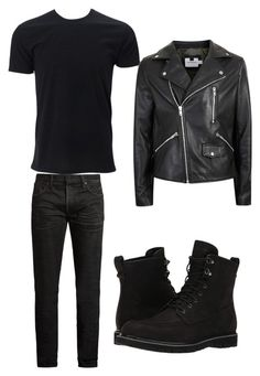 """Kelly Severide"" by maggie-maxwell on Polyvore featuring MasterCraft Union, Topman, Timberland, men's fashion and menswear"
