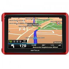 Sistem de navigatie GPS Serioux GlobalTrotter GT500, diagonala 5.0 inch, Fara Harta 4x4, Blog, Autos, Europe, Blogging