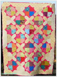 sewlovetosew quilt made for Siblings Together Charity