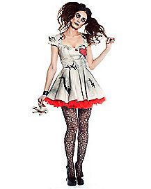 Voodoo Doll Adult Womens Costume