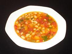 Authentic Greek Recipes: Greek Bean Soup - Fasolada