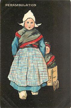 6710 - Set of 6, QUAINT HOLLANDER -1904