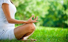 meditation lernen park gras