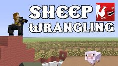 Things to do in Minecraft - Sheep Wrangling