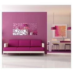 Dizajnové hranaté zrkadlá do moderného interiéru Flower Bomb, Sofa, Couch, Love Seat, Furniture, Decorating Ideas, Home Decor, Settee, Settee