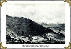 """Θέατρο Ασκληπιείου Επιδαύρου 1867 (Théâtre D' Épidaure), Γκραβούρα – σχέδιο του E. Rey, """"Voyage pittoresque en Grèce et dans le Levant fait en 1843-1844 , """" Λυών, 1867."""