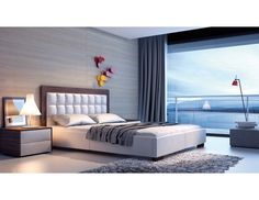 Łóżko AZURRO tapicerowane