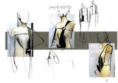 New Fashion Sketchbook Illustrations Simple Ideas Fashion Design Sketchbook, Fashion Illustration Sketches, Fashion Design Drawings, Fashion Sketches, Drawing Fashion, Fashion Collage, Fashion Art, Editorial Fashion, Trendy Fashion