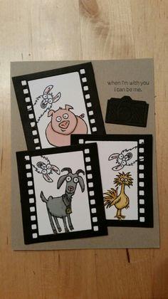 witzige Idee für das Stempelset From the herd