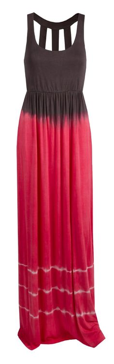 Love this tie dyed maxi dress! The top looks great and supportive too, with something underneath