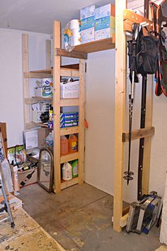 easy diy garage storage