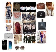 My dream outfits tonight and hanging out with exo, bts, got7, and shinee and having a birthday party for xiumin by emirahusetovic on Polyvore featuring polyvore fashion style Giuseppe Zanotti Chanel Miss21 Korea Jordan Brand Lauren Conrad clothing