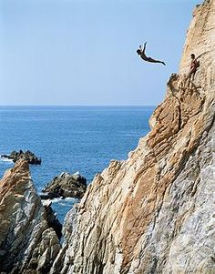 Cliff diving diving and patrick o 39 brian on pinterest - Highest cliff dive ever ...