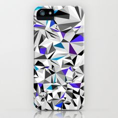 GREY+BLUE iPhone & iPod Case by House of Jennifer - $35.00