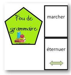 Fou de grammaire - La classe de Mallory