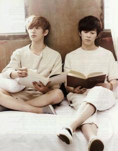 Minwoo & Donghyun...my favs from boyfriend
