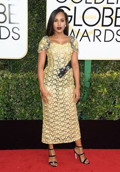 Kerry Washington aux Golden Globes 2017