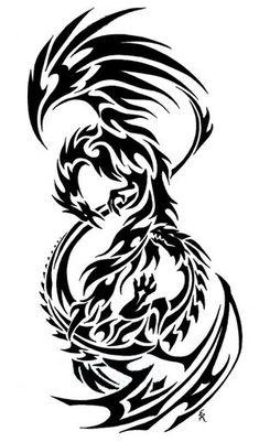 Tribal-Phoenix-Tattoo-Designs-2.jpg photo by Kamrek | Photobucket