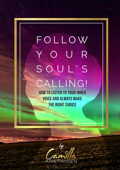 Are you listening to your inner voice, your intuition and your soul? It knows the right way for you all the time. This book is written to help you understand that what you have inside you is enough. You got all the answers if you only learn how to listen to your souls calling. Grab this book now and start to take action toward your big dreams in life. You can make anything happen. Listen and act. You got this!